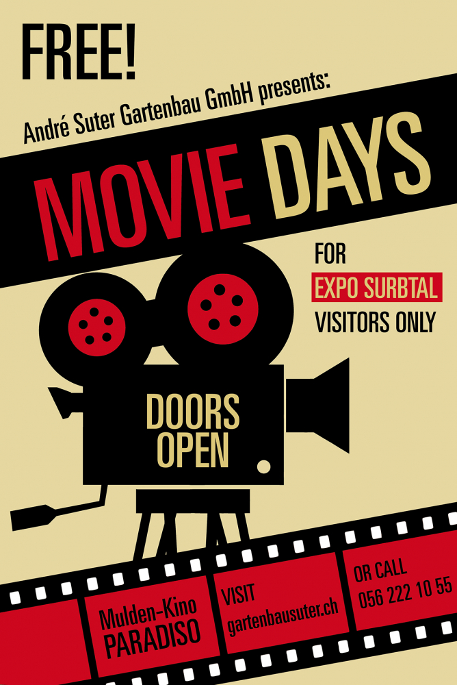 Movie Days an der Expo Surbtal